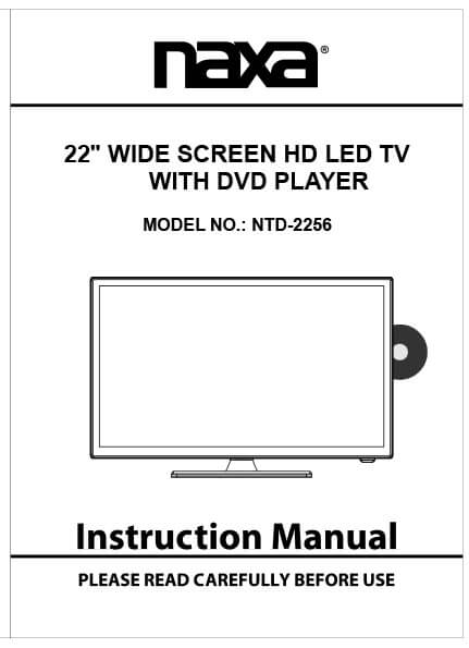Naxa TV Manual
