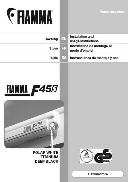Fiamma Awning Manual